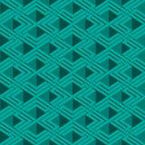 Isometric seamless pattern Stock Photography