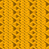 Isometric seamless pattern Royalty Free Stock Images