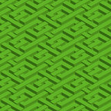 Isometric seamless pattern Royalty Free Stock Image