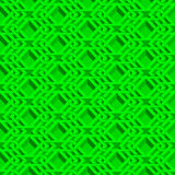 Isometric seamless pattern Royalty Free Stock Photography