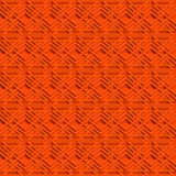 Isometric seamless pattern. Abstract illusory endless ornament texture. Fashion three dimensional background for web or printing design. Swatch is attached royalty free illustration