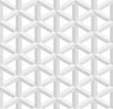 Isometric seamless pattern. 3D optical illusion background. Royalty Free Stock Photos