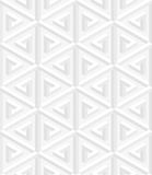 Isometric seamless pattern. 3D optical illusion background. Royalty Free Stock Photography