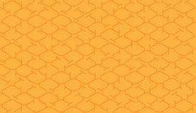 Isometric seamless pattern. Net lines background. Stock Images