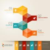 Isometric Shape Design Layout. Isometric shape modern style design layout Royalty Free Stock Photos