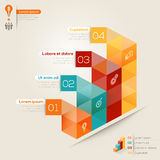 Isometric Shape Design Layout Royalty Free Stock Photo