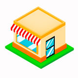 Isometric Shop Stock Photo