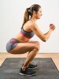 Isometric squat Stock Photography
