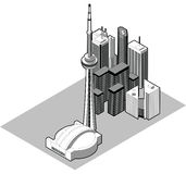 Isometric Toronto Stock Photos