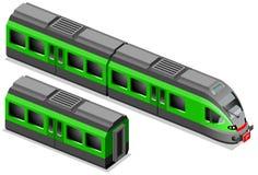 Isometric train Stock Photos