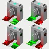 Isometric Tripod Gate Stock Photos