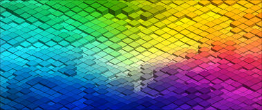 Isometric Vector Graph Stock Photography