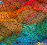 Isometric Vector Pattern Royalty Free Stock Photography
