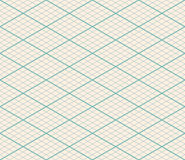 Isometric Vector Seamless Grid Background Royalty Free Stock Photography