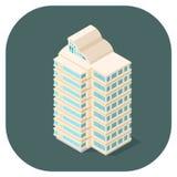Isometric wektorowy nowożytny biurowy Płaski ikona projekt Zdjęcie Royalty Free