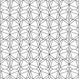 Isometric wzór Obrazy Stock