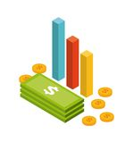 isometrics objects design Royalty Free Stock Image
