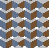 Isometrisch-kubussen Royalty-vrije Stock Afbeeldingen