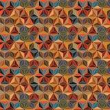 Isometrische naadloze patroon van ster het uitstekende Japanse asanoha stock illustratie