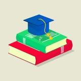 Isometrische Studentenillustration Stockfoto