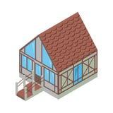 Isometrische Vektor-Illustration Lizenzfreie Stockfotografie