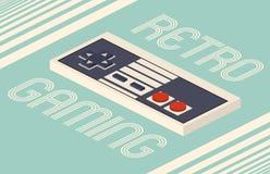 Isometrische Vektorillustration des Retro- Spiels Lizenzfreies Stockfoto
