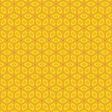 Isometrischer Bienenwaben-Hintergrund Lizenzfreie Stockfotografie