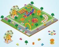 Isometrischer Karneval Lizenzfreie Stockbilder