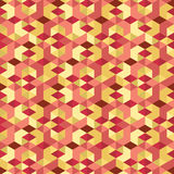 Isometrischer Muster-Vektor Stockfoto