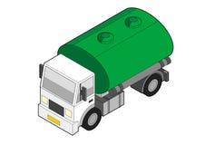 Isometrischer Tanker Stockfoto