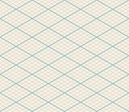 Isometrischer Vektor-nahtloser Gitter-Hintergrund stock abbildung