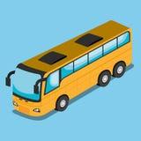 isometrisches Fahrzeugdesign stock abbildung