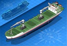 Isometrisches Frachtschiff Lizenzfreie Stockfotografie