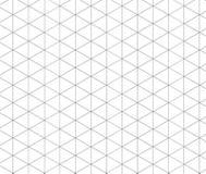 Isometrisches Gittergrau Schablone für Ihre Auslegung Lizenzfreies Stockbild