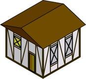 Isometrisches Haus Lizenzfreie Stockfotos