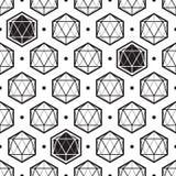Isometrisches Muster des Polygons Lizenzfreie Stockfotografie