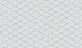 Isometrisches nahtloses Muster Nettozeichnungssummen Hintergrund Lizenzfreie Stockfotografie