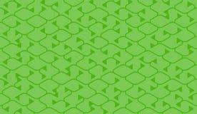 Isometrisches nahtloses Muster Nettozeichnungssummen Hintergrund Stockfotografie