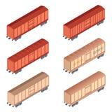 Isometrisches refrigereator Auto Lizenzfreie Stockbilder
