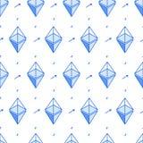 Isometrisk bitcoinlinje sömlös modell för stil Royaltyfri Fotografi