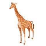 Isometrisk giraffsymbol Royaltyfri Bild