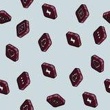 Isometrisk modell för social nätverksfärgöversikt Royaltyfri Fotografi