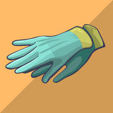Isometriska handskekläder Royaltyfri Foto