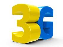 isometry symbol 3G stock illustrationer