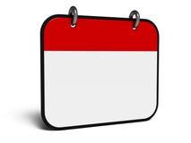 Isometry symbolskalender stock illustrationer
