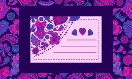 Isometry vykort från beståndsdelmodellen för att gratulera klienter på ferier, utmärkta beståndsdelar för annonsering av underklä royaltyfri illustrationer