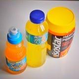 Isotonic drinkar Fotografering för Bildbyråer