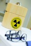 Isotopes radioactifs Photos libres de droits