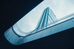 Isozaki tower in Milan and sky Royalty Free Stock Photos