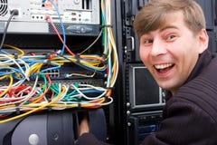 ISP-Spaß Lizenzfreie Stockbilder